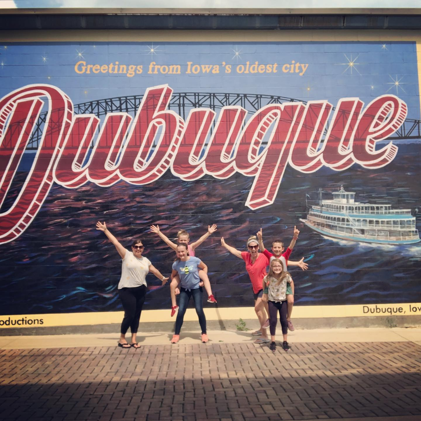 Greetings From Dubuque Mural